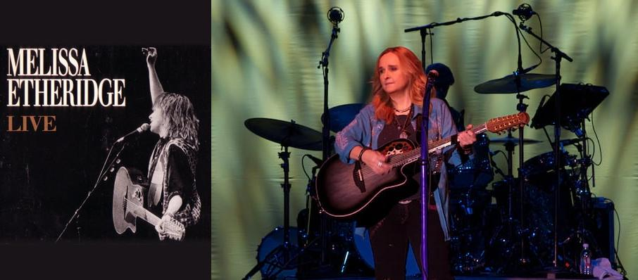Melissa Etheridge at Ruth Eckerd Hall