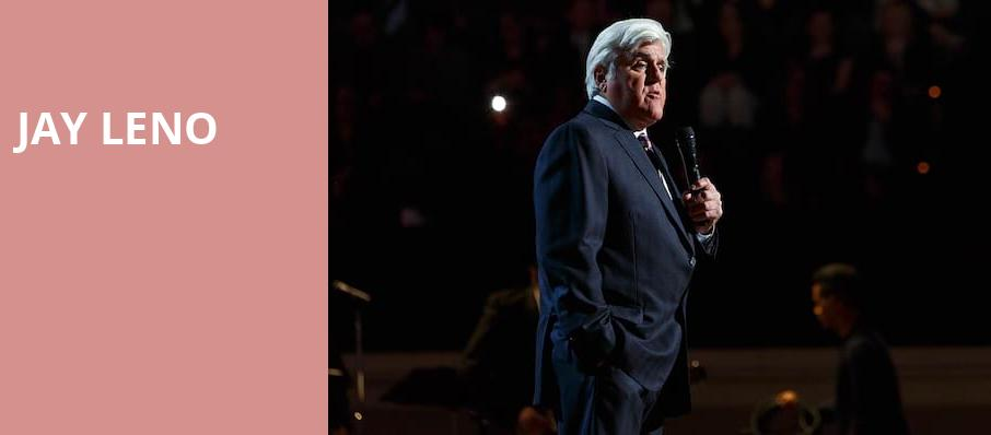 Jay Leno, Ruth Eckerd Hall, Clearwater