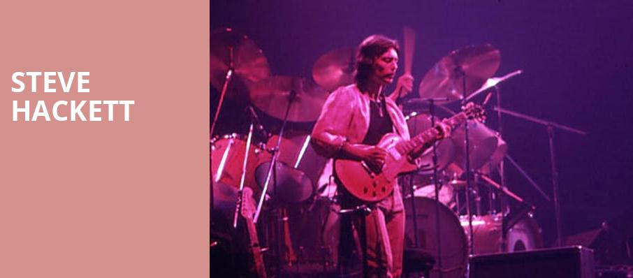 Steve Hackett, Capitol Theatre , Clearwater